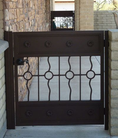 Custom Metal Entry Gate