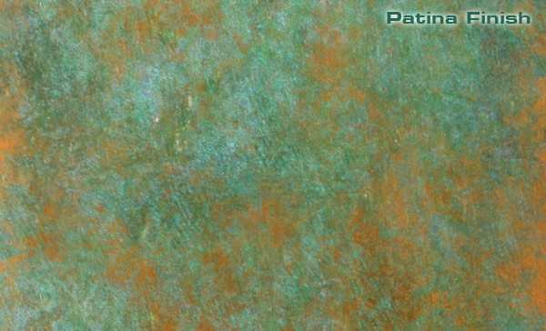 Copper Patina Finish