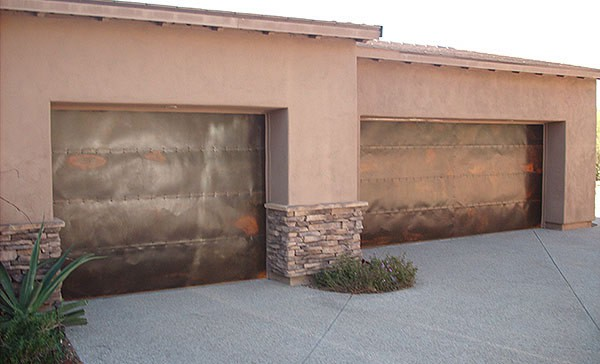 Tucson Custom Garage Doors Rustic Garage Doors